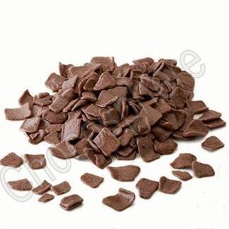 Large Milk Chocolate Flakes - 1Kg
