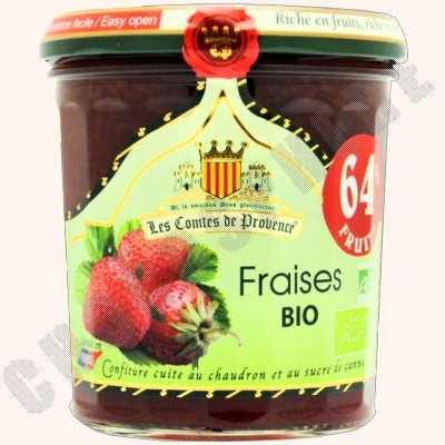 Organic Strawberry Spread - Fraises BIO