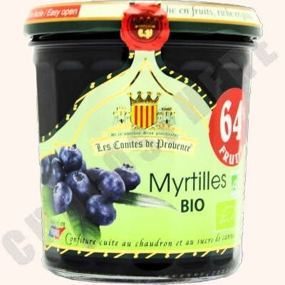 Organic Blueberry Spread - Myrtilles BIO