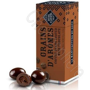 Grains d'Arome Dark Chocolate Covered Roasted Coffee Beans