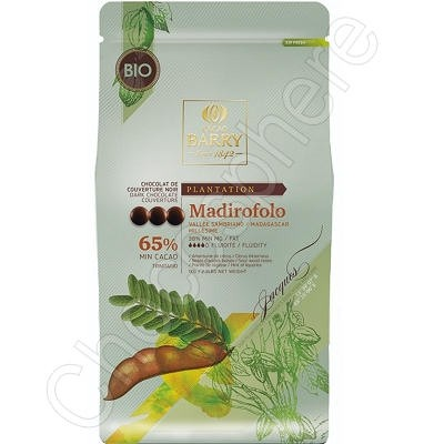 Cacao Barry Madirofolo Single Plantation Madagascar Dark Chocolate Couverture