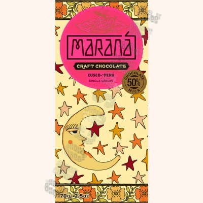 Cusco Milk Chocolate Bar - 50% Cacao - 70g