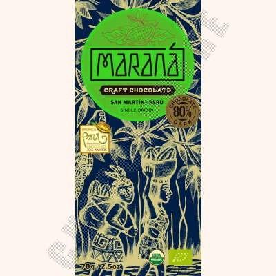 San Martin Dark Chocolate Bar - 80% Cacao - 70g