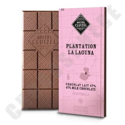 Plantation La Laguna Lait 47% Chocolate Bar - 70g