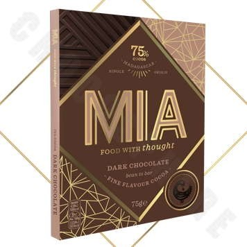 75% Dark Chocolate Bar - 75g