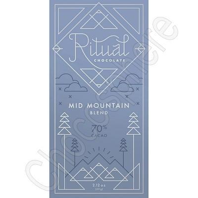Mid Mountain Blend 70% Chocolate Bar