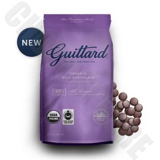 Guittard Organic Milk Chocolate Baking Wafers