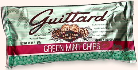 Green Mint  Chips, 12oz