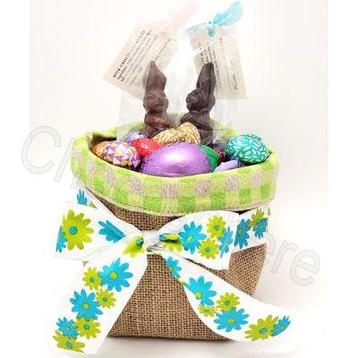 Valrhona Chocolate Eggs, Suzanne's Bunnies & Suzanne's Egg