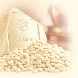 Callebaut W2-NV White Chocolate Callets '3-Drop'