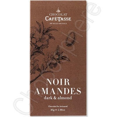 Cafe-Tasse Noir Amandes Tablet 85g