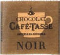 Cafe-Tasse Noir Napolitain Semisweet Chocolate 5g Square