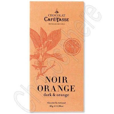 Cafe-Tasse Noir Orange Tablet