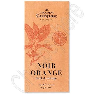 Cafe-Tasse Noir Orange Tablet