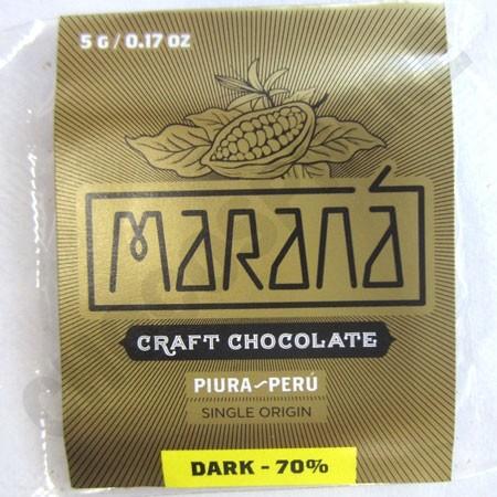 Piura Dark Chocolate Squares - 70% Cacao