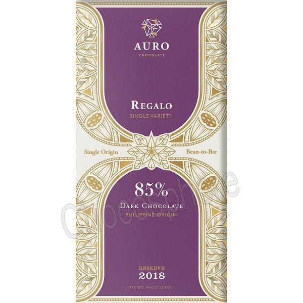 Regalo 85% Dark Chocolate Reserve Bar