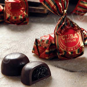 Venchi Rhum Cuneesi - Chocolate filled with Chocolate Rum Cream