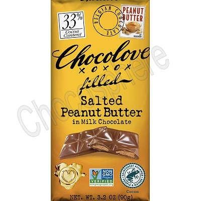 Salted Peanut Butter Milk Chocolate Bar 3.2oz