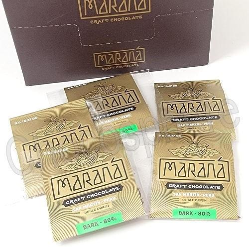 San Martin Dark Chocolate Squares - 80% Cacao