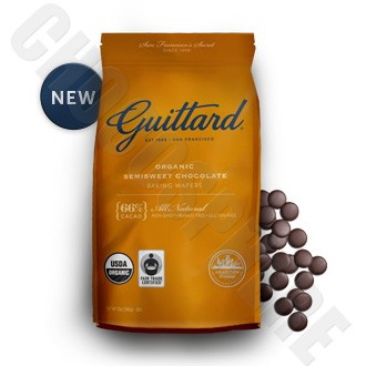 Guittard Organic Semisweet Chocolate Baking Wafers