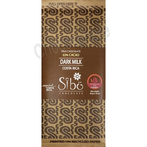 Dark Milk Chocolate Bar – 50g