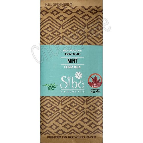 Mint Milk Chocolate Bar – 50g