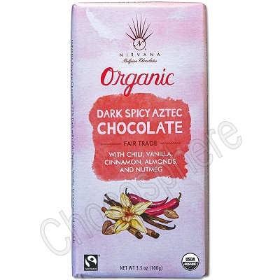 Organic Spicy Aztec Bar 3.5oz