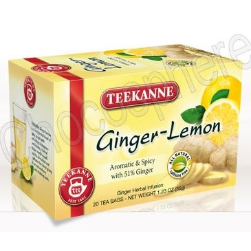 Ginger-Lemon Caffeine-Free Tea