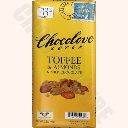 Toffee-Almond Bar 3.2oz