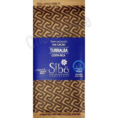 Turrialba 70% Cacao Bar – 50g
