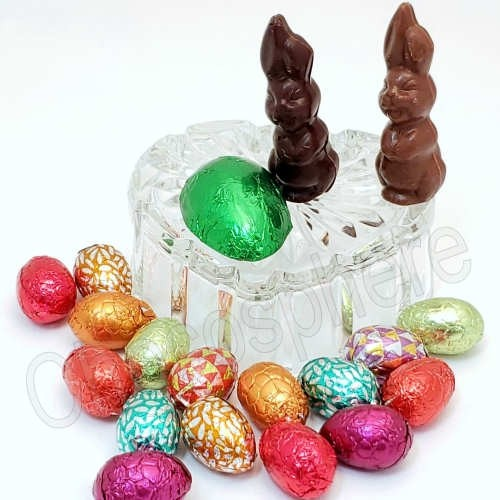 Valrhona Chocolate Eggs, Suzanne's Bunnies & Suzanne's Egg