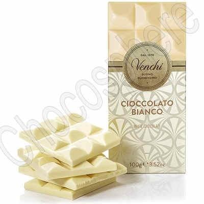 Cioccolato Bianco White Chocolate Bar - 100g