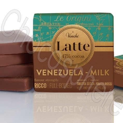 Venezuela Milk 47% Cacao Napolitain Tasting Squares