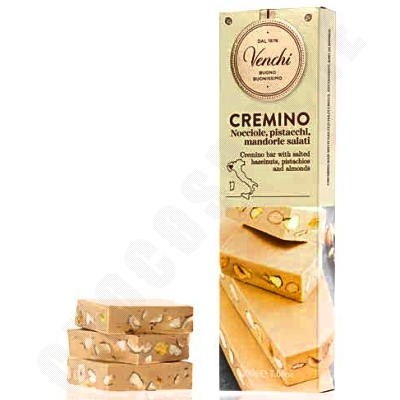 Cremino Tablet with Salted Hazelnuts, Pistachios, & Almonds - 200g