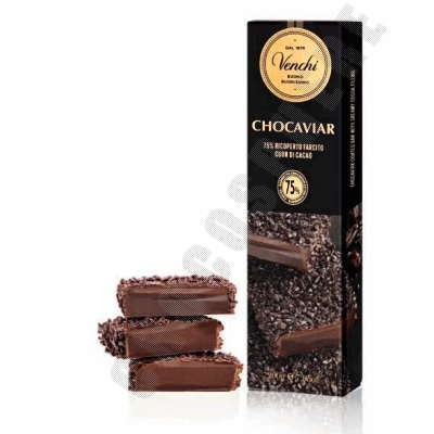 Dark Chocoviar Bar - 200g