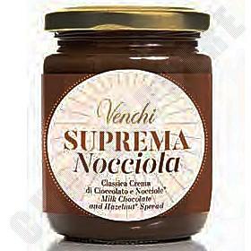 """""""Suprema Nocciola"""" Milk-Hazelnut Spread - 250g"""