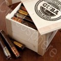 54-Piece Wooden Cigar Box - 5.4kg