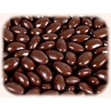 Amandes Noir Dark Chocolate Covered Almonds Bag - 250g