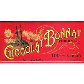 Bonnat 100% Cacao Bar 100g