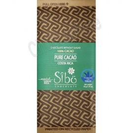 Sibo 'Pure Cacao' 100% Cacao Bar – 50g