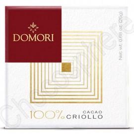 Domori Cacao Criollo 100% 25g Bar