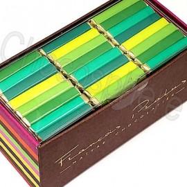 Pralus Organic Dark Assorted Single-Origin 24-Squares Gift Box
