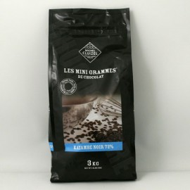 Michel Cluizel 72% Kayambe Noir Mini-Grammes Bag - 3Kg