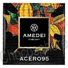 Amedei Acero 95 Napolitain Extra Dark Chocolate Tasting Square
