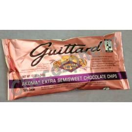 Guittard Akoma Chocolate Chips, 12oz