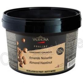 Valrhona Amande Noisette Crunchy Praline Paste 5Kg