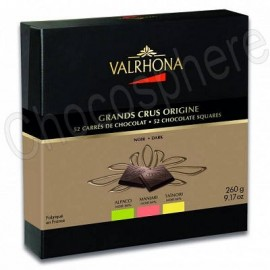 Valrhona Degustation Grand Crus Origine Box 260g