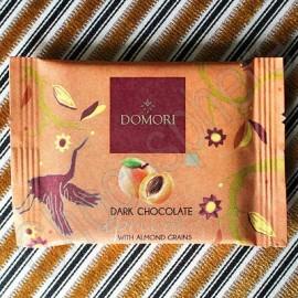 Domori 'To Go' Dark Chocolate with Apricot Bar - 25g