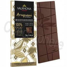 Valrhona Araguani 100% Cacao Chocolate Bar 70g