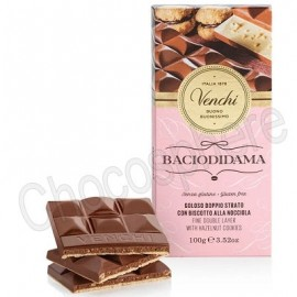 Venchi Baciodidama Milk Chocolate Bar - 100g